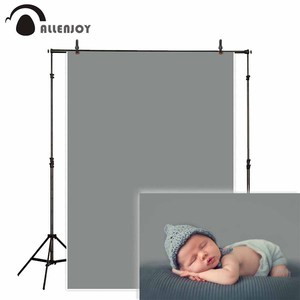 Image 1 - Pure storm gray photography backdrop solid color background portrait photo studio photoshoot prop photocall