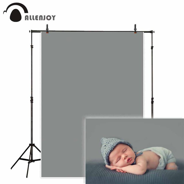 Pure storm gray photography backdrop solid color background portrait photo studio photoshoot prop photocall