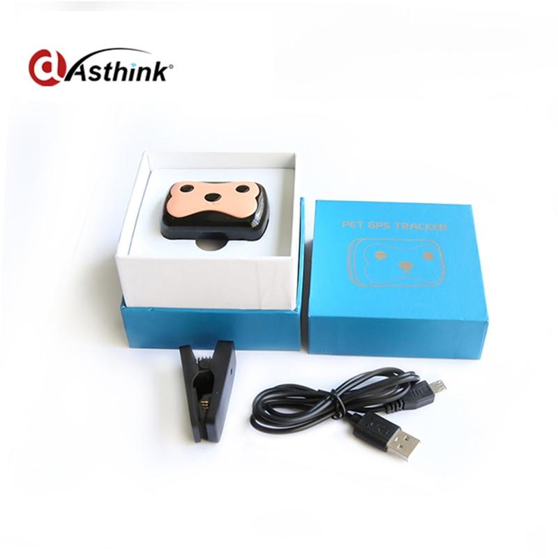 Waterproof MiNi Pet GSM GPS Tracker Locator Collar For Dog Cat Long ...