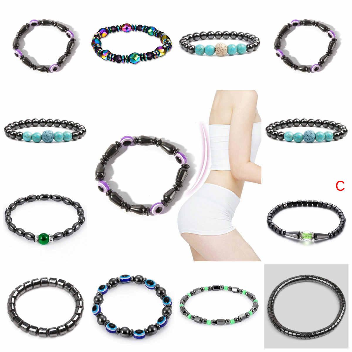 18 стиль мода похудение браслет для магнитотерапии здоровье роскошный похудение снижение жира продукт