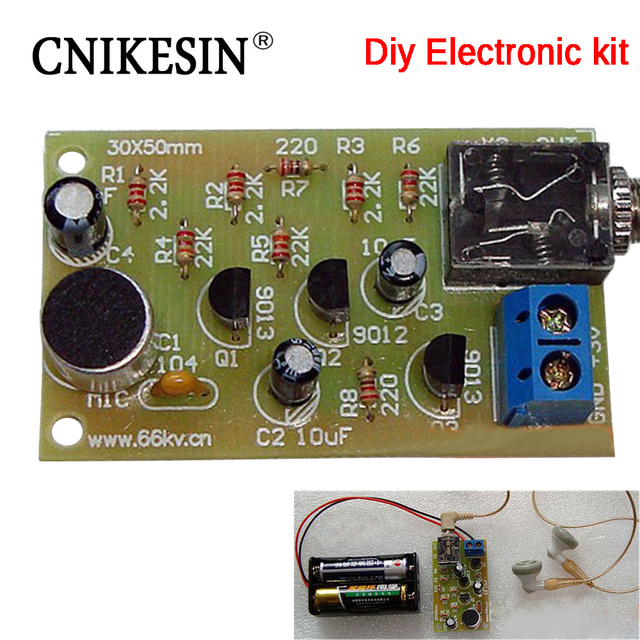 CNIKESIN Diy electronice suite DIY Multistage audio amplifier circuit of electronic parts / DIY homemade suite diy kit