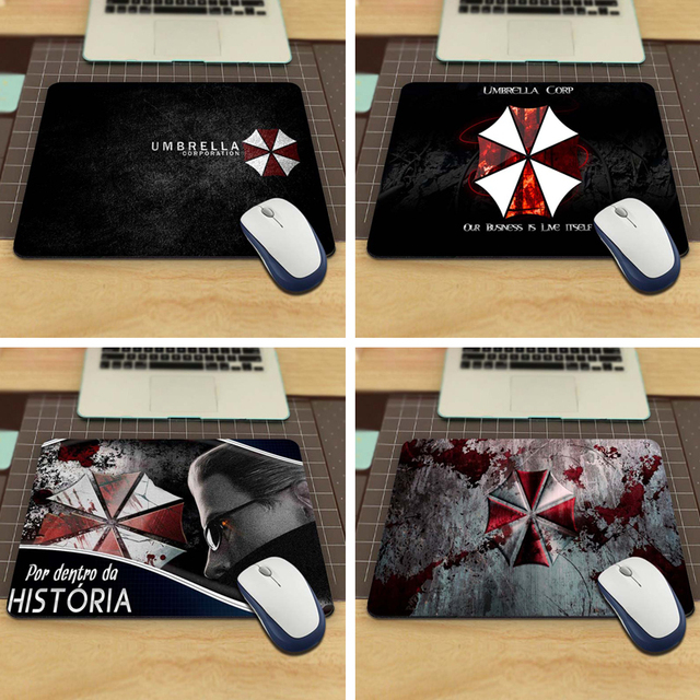 resident evil umbrella corporation Mouse Pad Computer Gaming Mouse Pad Gamer Play Mats