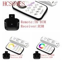 BC T6/T7/T8 + R3M Multi control de zona led de atenuación de/AAC/RGBW Max 3 * control remoto inalámbrico 3A con juego de controlador receptor DC12V 24V|Controladores RGB|Luces e iluminación -