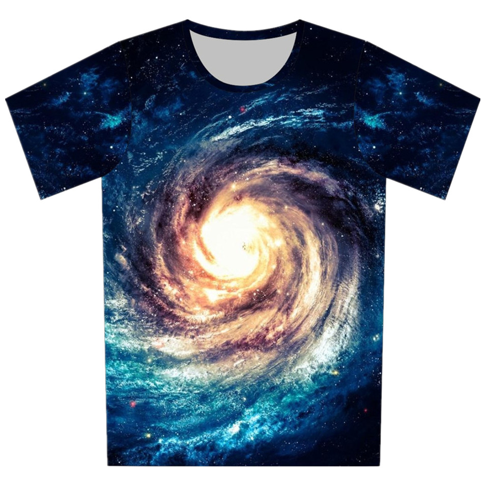 Design t shirt galaxy - Children New 3d T Shirt Print Cartoon Fruit Galaxy Design T Shirt Boy Girl Lovely Tees Tops T Shirts Kids Summer Clothing In T Shirts From Mother Kids On
