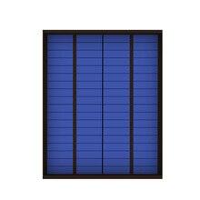 5 Вт 18В 278mA мини солнечная батарея Панели солнечные Стандартный для домашних животных из поликристаллического кремния взимать плату за 12V Батарея зарядный модуль