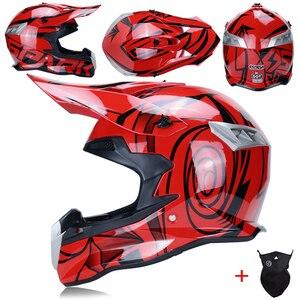 Image 4 - ออกแบบใหม่รถจักรยานยนต์Gearsป้องกันDirt Bike Motocrossหมวกกันน็อกรถจักรยานยนต์ข้ามประเทศรถจักรยานยนต์รถจักรยานยนต์หมวกกันน็อกMotocross