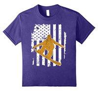 Snowboardingser T-shirt, Winter Sportser Shirts für Athleten Hip Hop Neuheit T-Shirts Männer Marke Kleidung Top T