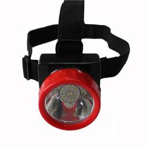 3 sztuk/partia HENGDA LD-4625 Led Q5 koralik przeciwwybuchowe akumulatorowa lampa górnicza/kask bezpieczeństwa reflektor z głową taśmy i metalowy klips