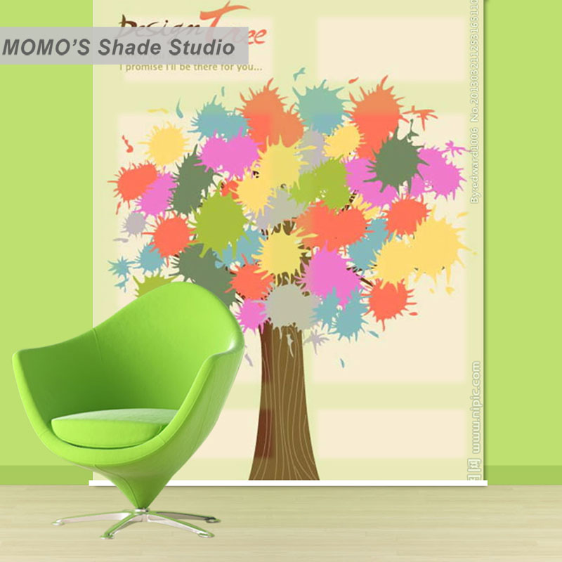 Permalink to MOMO Roller Blinds Blackout Design Window Blinds Painting Curtains Roller Shades Thermal Shutter Fabric Custom Size, Alice 323