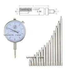 Внутренний резьбовой Манометр Универсальный тип микрометр циферблат Индикатор зонд более длинный соединительный стержень удлинитель бар Калибр M2.5