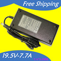 19.5V 7.7A 150W 7.4*5.0MM Replacement For Dell Universal Notebook Laptop AC Charger Power Adapter free shipping