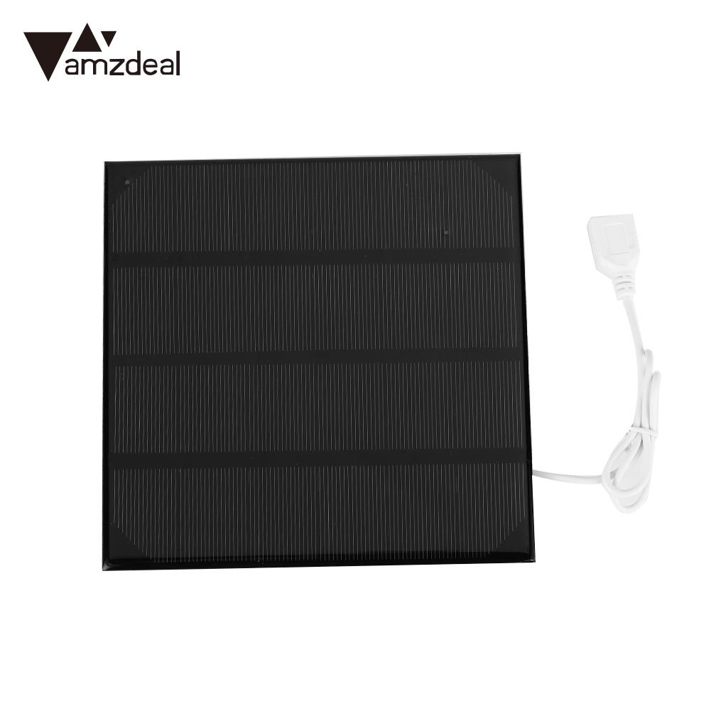 Fast Charger USB Solar Panel Portable 4.5W 6V Solar Generator Outdoor Polysilicon Solar Charger Panel