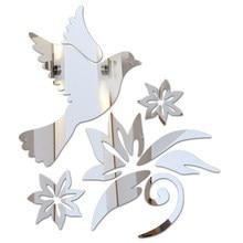Современные акриловые 3d наклейки, горячие бабочки, DIY настенные зеркальные наклейки, домашнее украшение для подарка, глобальный