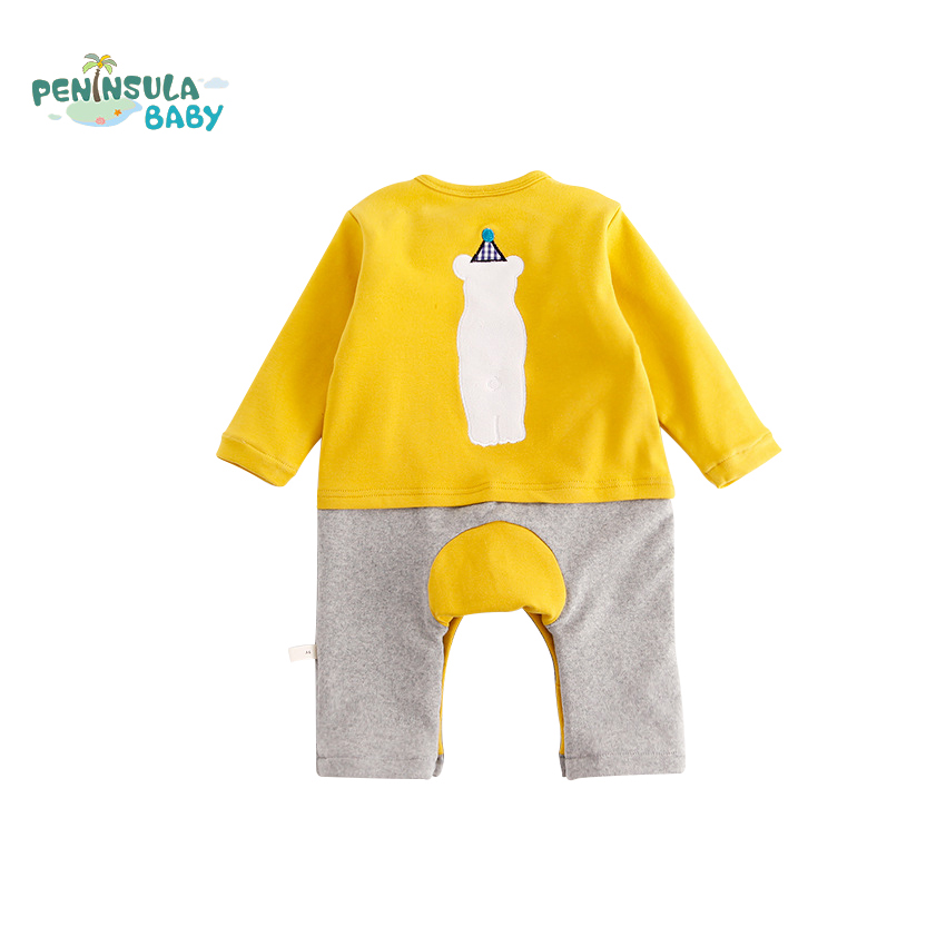 Newborn Baby Jumpsuit Warm Winter Boys And Girls Infantil Rompers Cartoon Animal Rabbit Cubs Long Sleeves Outdoor Cotton Clothes baby climb clothing newborn boys girls warm romper spring autumn winter baby cotton knit jumpsuits 0 18m long sleeves rompers