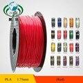 1 KG/Spool filament Impressora 3d suprimentos PLA 1.75mm 3mm Plástico/Borracha Consumíveis Para A indústria médica educationMaterial