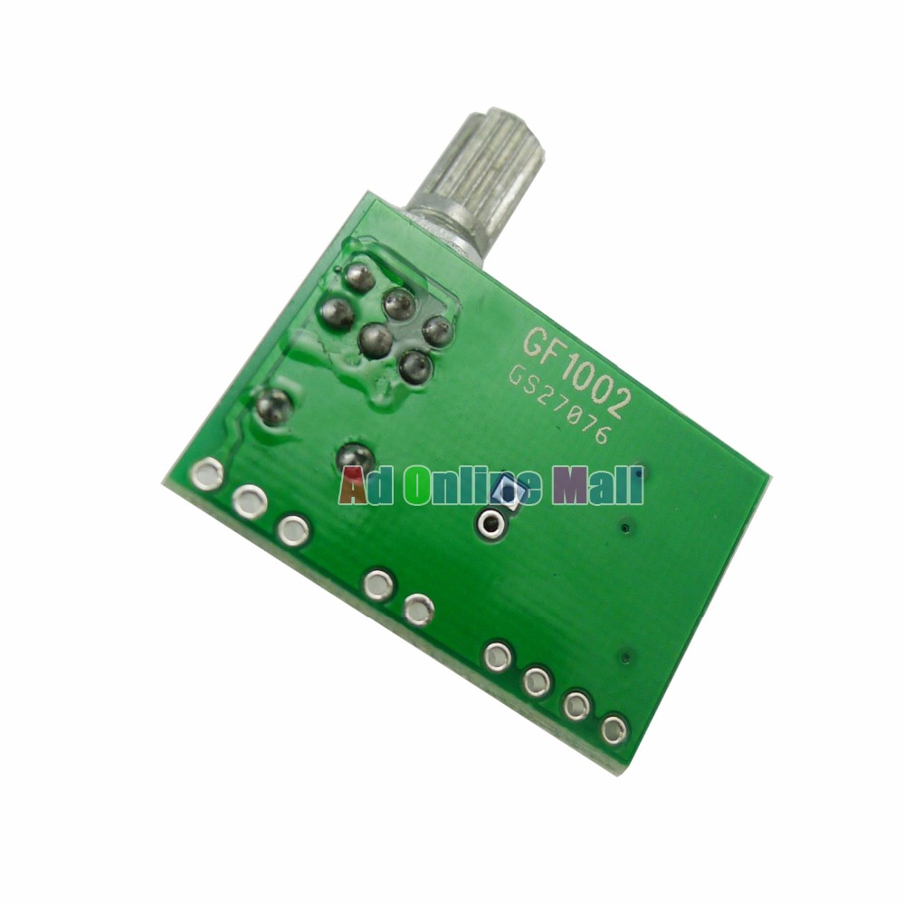 10pcs Lot Pam8403 Mini 5v Power Digital Audio Amplifier Board 2 Volume Control Circuit Channel 3w With Switch Potentiometer In Integrated Circuits From Electronic