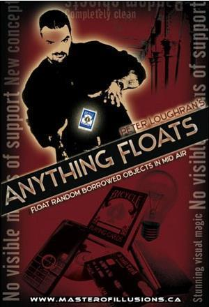 Free shipping! Anything Floats - Magic tricks,Illusions,Accessories,Stage Magic,Close up,mentalism,comedy,as seen on tv