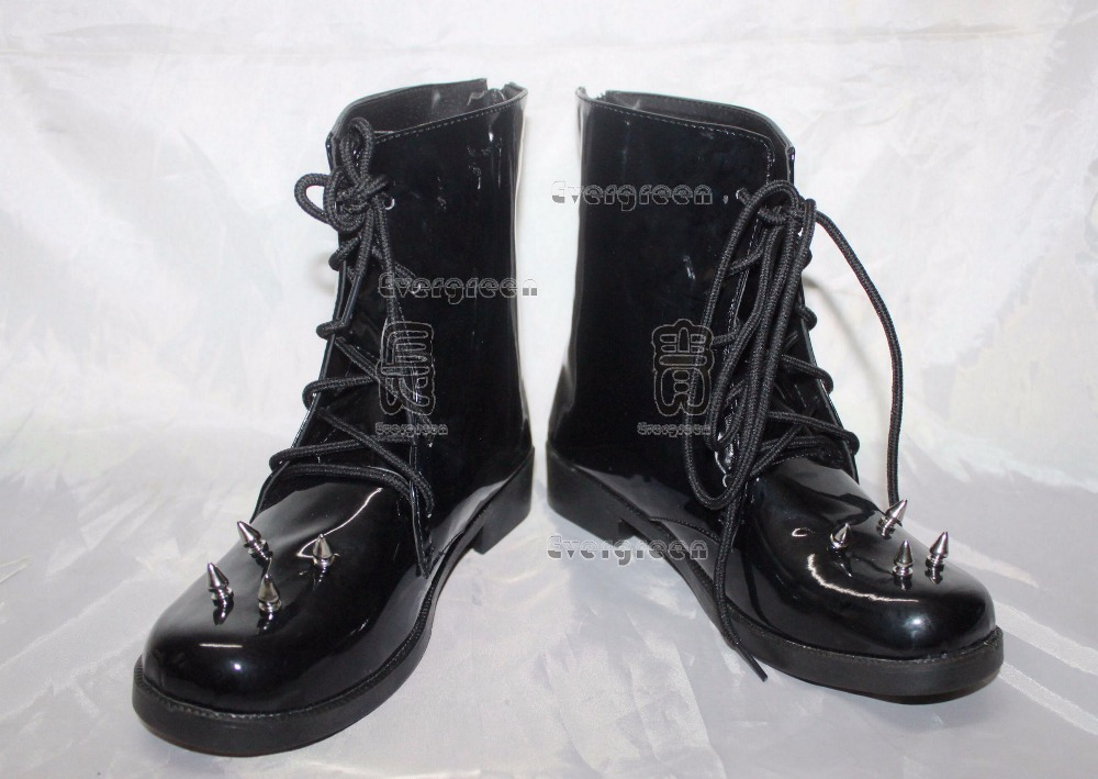 Vocaloid Kagamine Len cosplay Shoes Boots Custom Made 6624