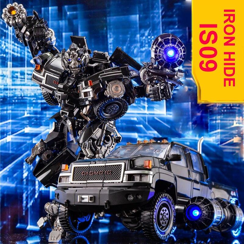 BMB Transformation ls09 ls 09 Ironhide MPM06 MPM 06 figura de acción del modo de camión de aleación experto de arma KO Robot juguetes No al por menor caja-in Figuras de juguete y acción from Juguetes y pasatiempos    1