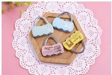 50pcs/lot! Mini Handbag Modeling Small Password Lock Trolley Case
