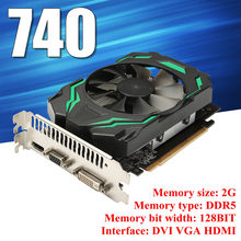 2GB GDDR5 128bit Vga Dvi HDMI Kartu Grafis W/Fan untuk NVIDIA GeForce Prosesor Streaming 384 Memori Lebar 128BIT(China)