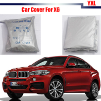 Cawanerl Car Styling Car Cover Rain Snow Resistant Sun Shield Cover Anti UV Sun Shade For BMW X6