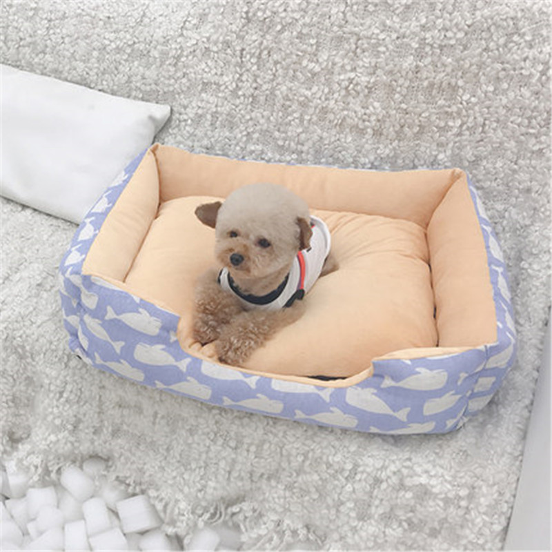 Comfortable Pet Cat Bed Detachable Dog Basket Kennel Nest Big Size Dog Puppy Sleep Cushion Mat Sofa For Small Medium Large Dogs #4