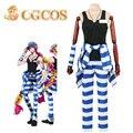Cgcos express! Nanbaka Detentionhouse Uno No. 11 Uniforme de Cosplay del Anime Por Encargo Cos Del Partido de Halloween Juego