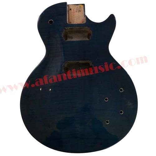 Afanti Music DIY guitar DIY Electric guitar body (ADK-063) afanti music prs diy guitar kit prs style electric guitar apr 727