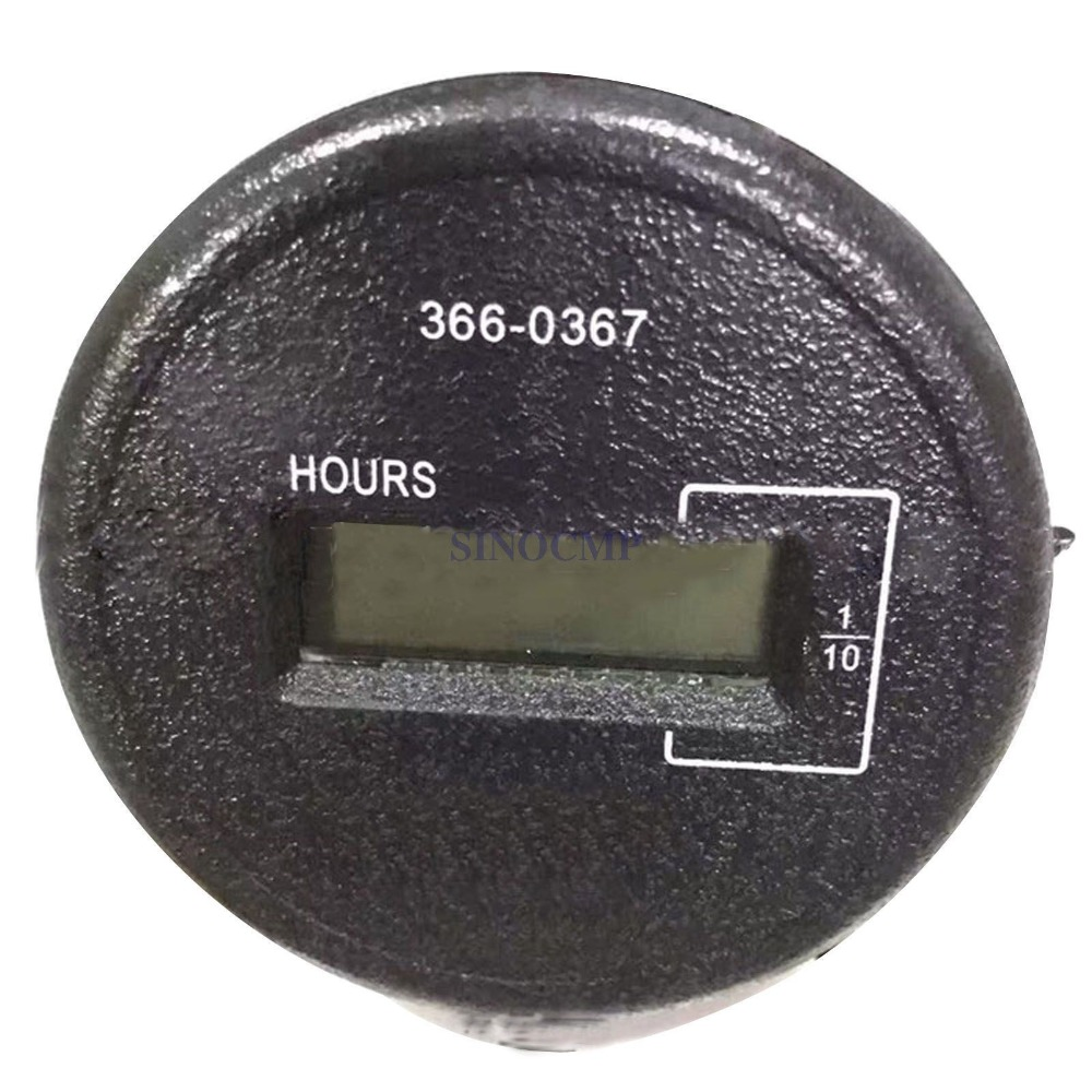 320D E320D Hour Meter 366-0367 3660367 for Excavator, 3 month warranty e320d 320d excavator hydraulic pump solenoid valve 111 9916 yellow point