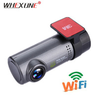WHEXUNE Mini WIFI Car DVR Dash Camera Video Recorder FULL HD 1080P Dashcam Digital Registrar Camcorder APP Manipulation Wireless