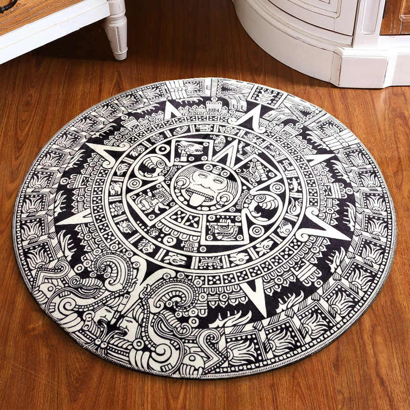Round Bathroom Mat Home Decorating