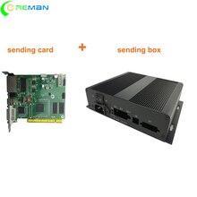 ส่งการ์ด + ส่งกล่องLinsn TS801d TS802DวิดีโอLed Controller