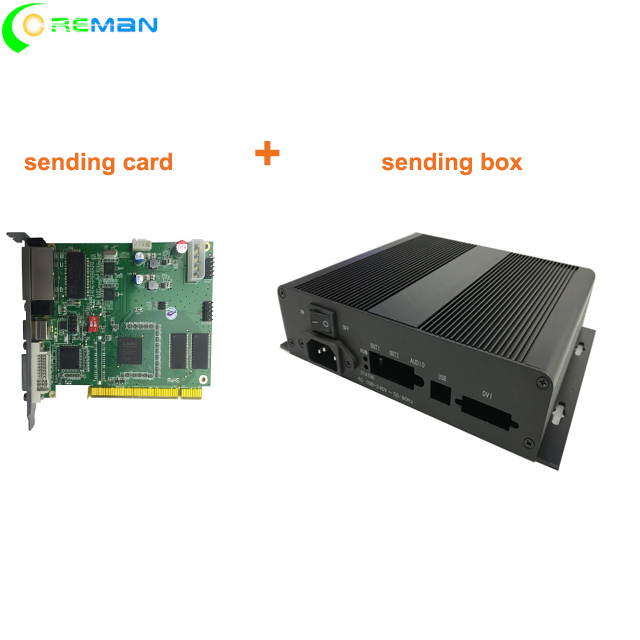 sending card + sending box  linsn TS801d TS802D  video led screen controller-in LED Displays from Electronic Components & Supplies