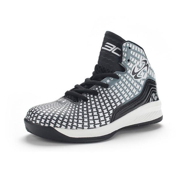 Niños calientes de la Venta las zapatillas de deporte zapatos de baloncesto amortiguación Transpirable hombres y mujeres al por mayor de Los Niños calzado deportivo