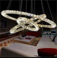 Modern LED Crystal Chandelier Lights Living Room Bedroom Lamps Cristal Lustre Chandeliers Lighting Pendant Hanging WPL222