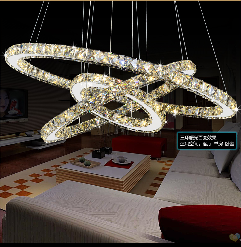 Modern LED Crystal Chandelier Lights Living Room Bedroom Lamps Cristal Lustre Chandeliers Lighting Pendant Hanging WPL222 modern led crystal chandelier lights living room bedroom lamps cristal lustre chandeliers lighting pendant hanging wpl222