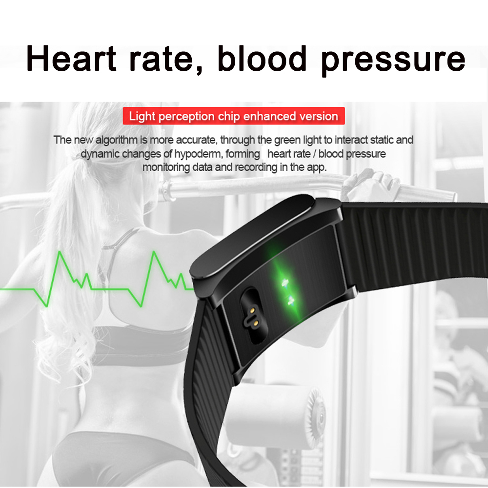 Smart Bracelet Watch Men Women Sports Fitness Tracker Heart Rate Blood Pressure Monitor X9 Pro Wristwatch Band for Android iOS