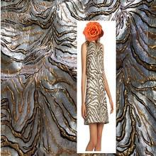 1 meter jacquard brocade fabric for sewing yarn-dyed patchwork fabrics metallic cloth fat quarters telas quilting full dress DIY