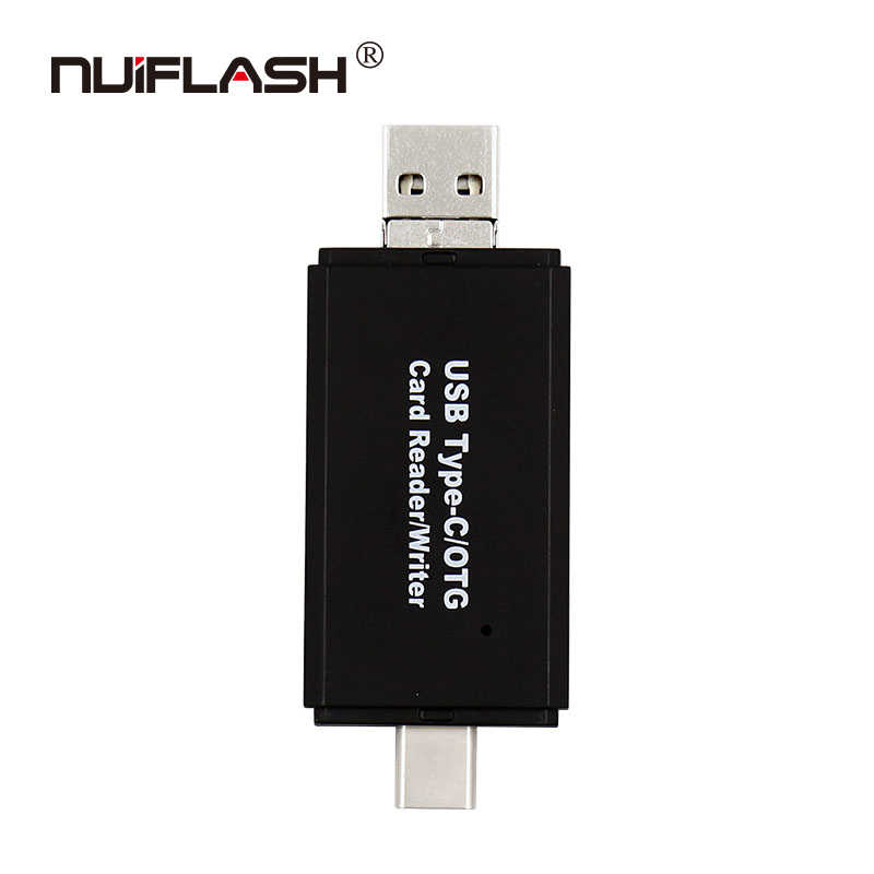 نوع C و المصغّر USB و USB 3 في 1 وتغ قارئ بطاقات عالية السرعة USB2.0 العالمي وتغ TF/SD لالروبوت الكمبيوتر تمديد رؤوس