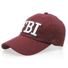 2018 Women Men FBI Letters Denim Baseball Cap Snapback Hip Hop Flat Hat Embroidery Cottonhat New Style Adjustable Dance HOT CNO(China)
