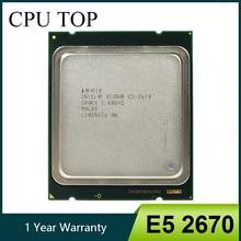 معالج Intel Xeon E5 2670 SR0KX C2 بسرعة 2.6 جيجاهرتز 20 متر كاش 8.00 GT/s LGA 2011 CPU 100% عمل عادي