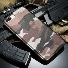 Phone Cases For iPhone 7 Plus iPhone 6 6S 5S 5 Case Cool Army Camo Camouflage Case For iPhone 6 6S Plus i5 5S SE Leather Cover(China)