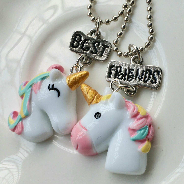 9e134136acd4 Kawaii chicas joyas de niños caballo de dibujos animados Color ...
