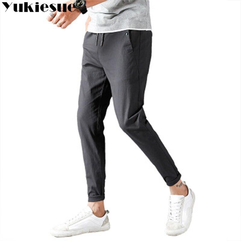 Hommes pantalon de haute taille lâche harem pantalon mens pantalon streetwear pantalon hombre la peur de dieu pantalons de survêtement pour hommes Plus taille