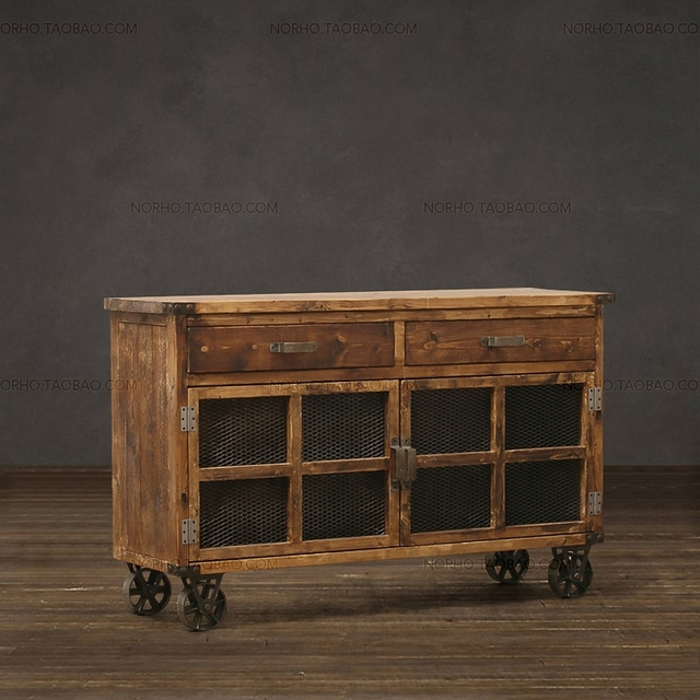 Korean TV Cabinet Full Of Old Pine Wood TV Cabinet To Cabinet Living Room  Furniture Custom