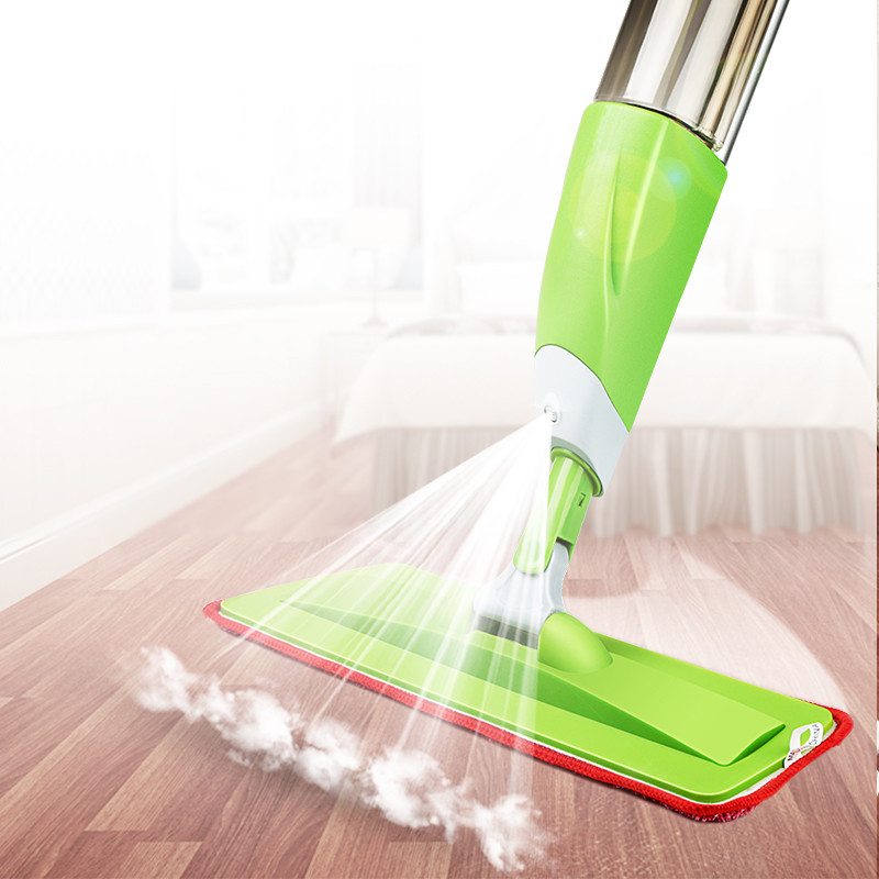 New fashion spray mop multifunctional aluminum one button start rotatable cleaning care swod - New uses for the multifunctional spray ...