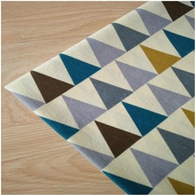 Cotton Flax Canvas Printing Fabric Geometric Linen For DIY Sewing Quilting Cloth Width By 150CM