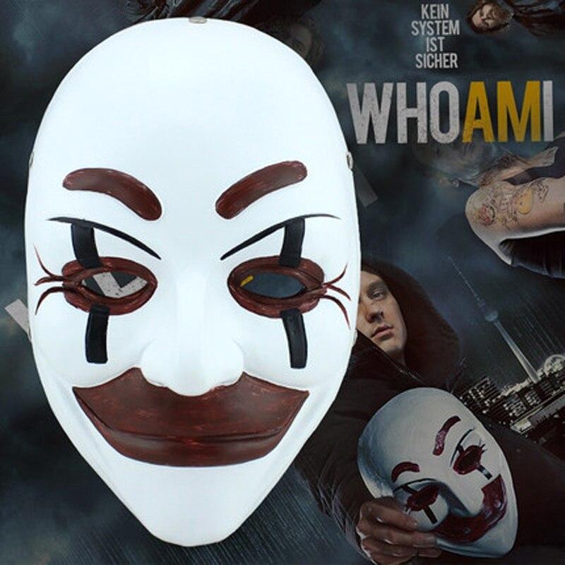 Qui Suis-je Pour Film Thème Masque Parti Cosplay Halloween Masque Horreur décors De Fête De Danse de Haute qualité Résine Collecteur Édition de Masques