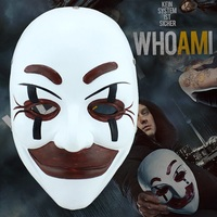 Who Am I To Movie Theme Mask Party Cosplay Halloween Mask Horror Dance Party props High grade Resin Collector's Edition Masks
